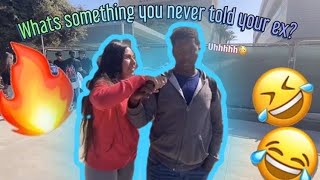 Public Interview | What's Something You Never Told Your Ex?🤔😂 | Lawndale High School