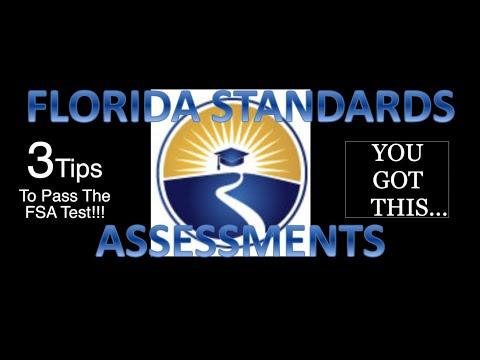 The Florida Standard Assessment - 3 Steps To Pass FSA