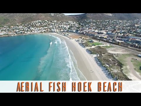 Fish Hoek Beach, Cape Town, Aerial View