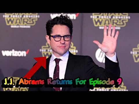 J.J. Abrams To Write and Direct Star Wars Episode 9