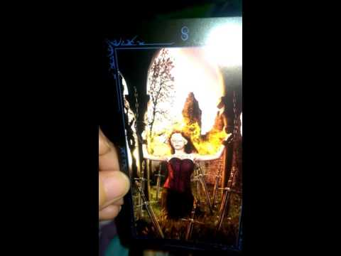 Dark fairytale tarot card deck