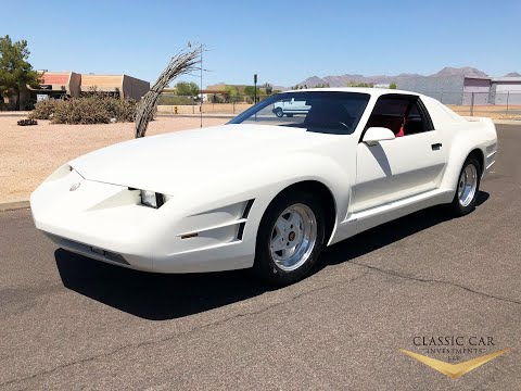 SOLD: 1990 Chevrolet Camaro Iroc-Z Carralo Coupe - Ultra Rare - Only 16K Org Miles!