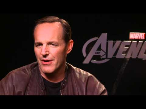 The Avengers - Cobie Smulders Clark Gregg Interview