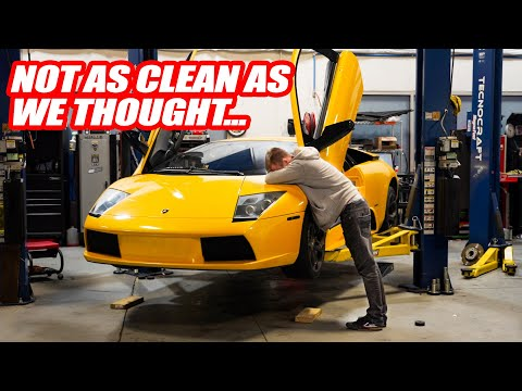 Finding Out What's Broken On The New Lamborghini Murcielago! *this Supercar Needs A Few Things*