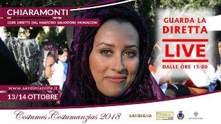Costumes e Costumanzias 2018 - Chiaramonti | SARDEGNA | Diretta Streaming