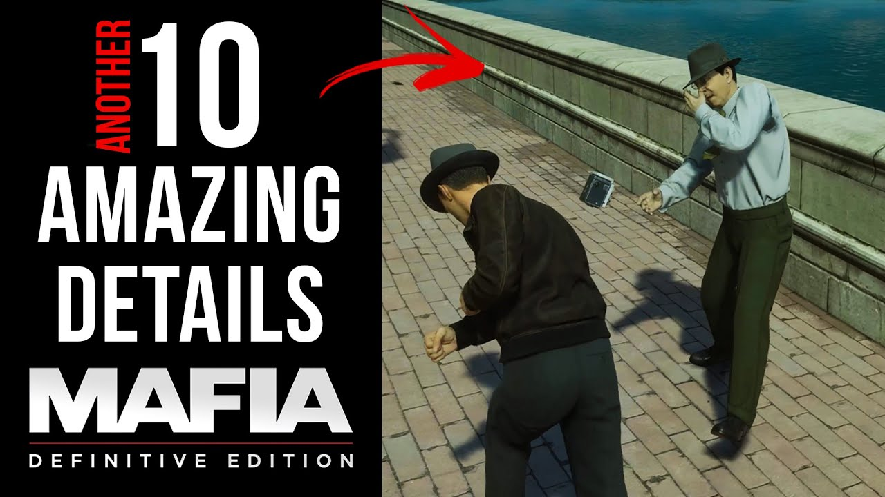 Another 10 AMAZING Details in Mafia: Definitive Edition