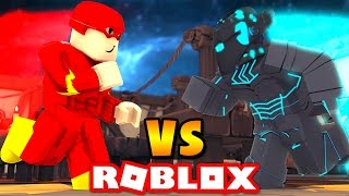 THE FLASH VS SAVITAR IN ROBLOX! (Roblox The Flash Superhero Life)