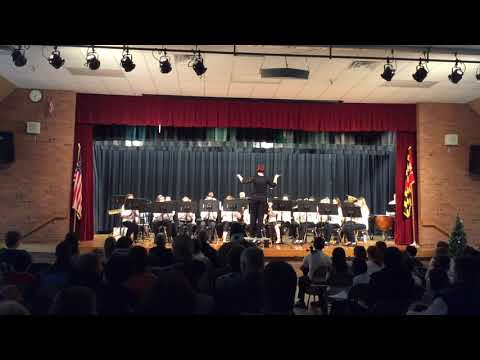 New Market Middle School Honor Band Winter Concert 2017