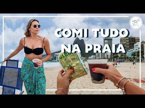COMIDA DE PRAIA NO RIO DE JANEIRO  EP 01  Go Deb