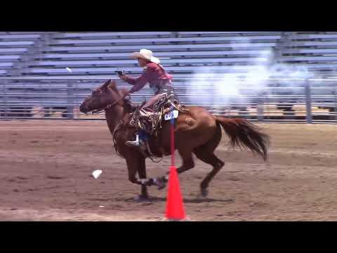 Kenda Lenseigne 2017 World Champion Cowgirl Mounted Shooter