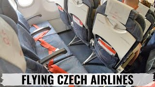 Review: CSA Czech Airlines A319 Economy Class + Prague Airport