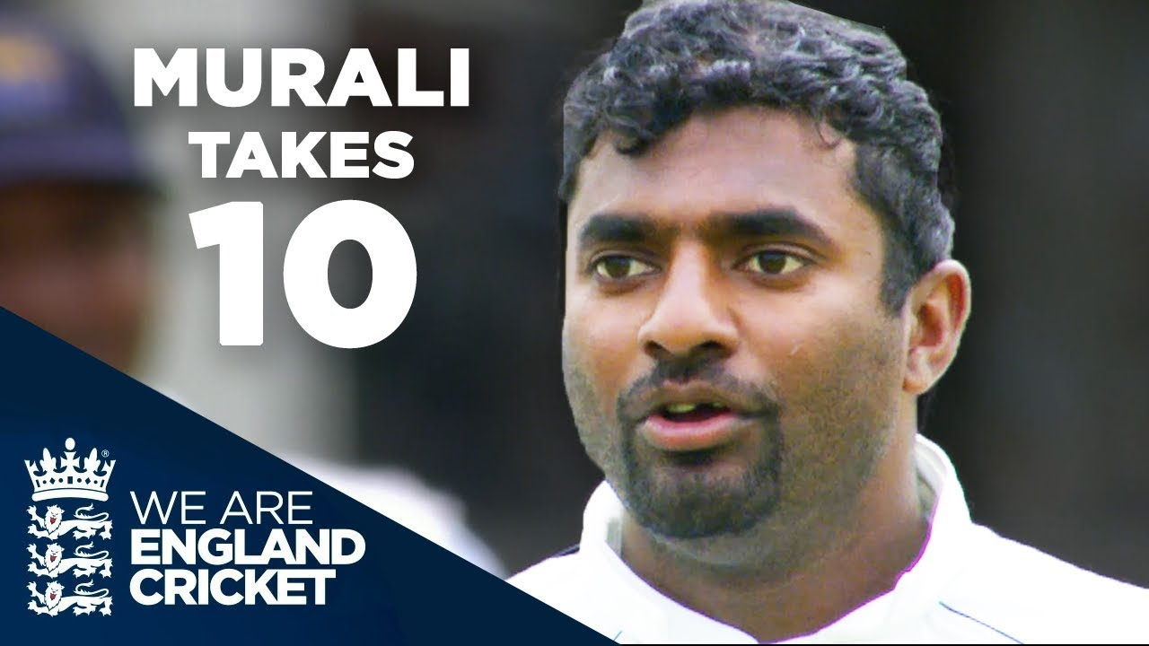 Murali Takes 10 at Edgbaston | England v Sri Lanka 2006 - Full Highlights