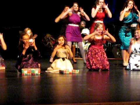 Kara's dress rehearsal performing My Favorite Things!!