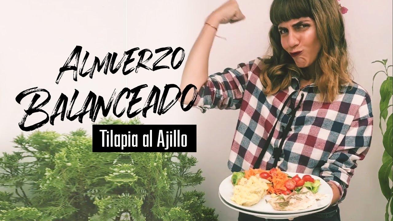 Tilapia al Ajillo | Video Receta |  Alimentación Balanceada