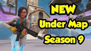 Fortnite Glitches: NOUVEAU sous la carte Polar Peak! (Saison 9)
