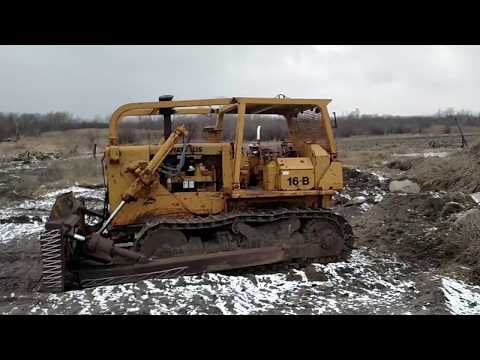 Fiat-Allis dozer cold start