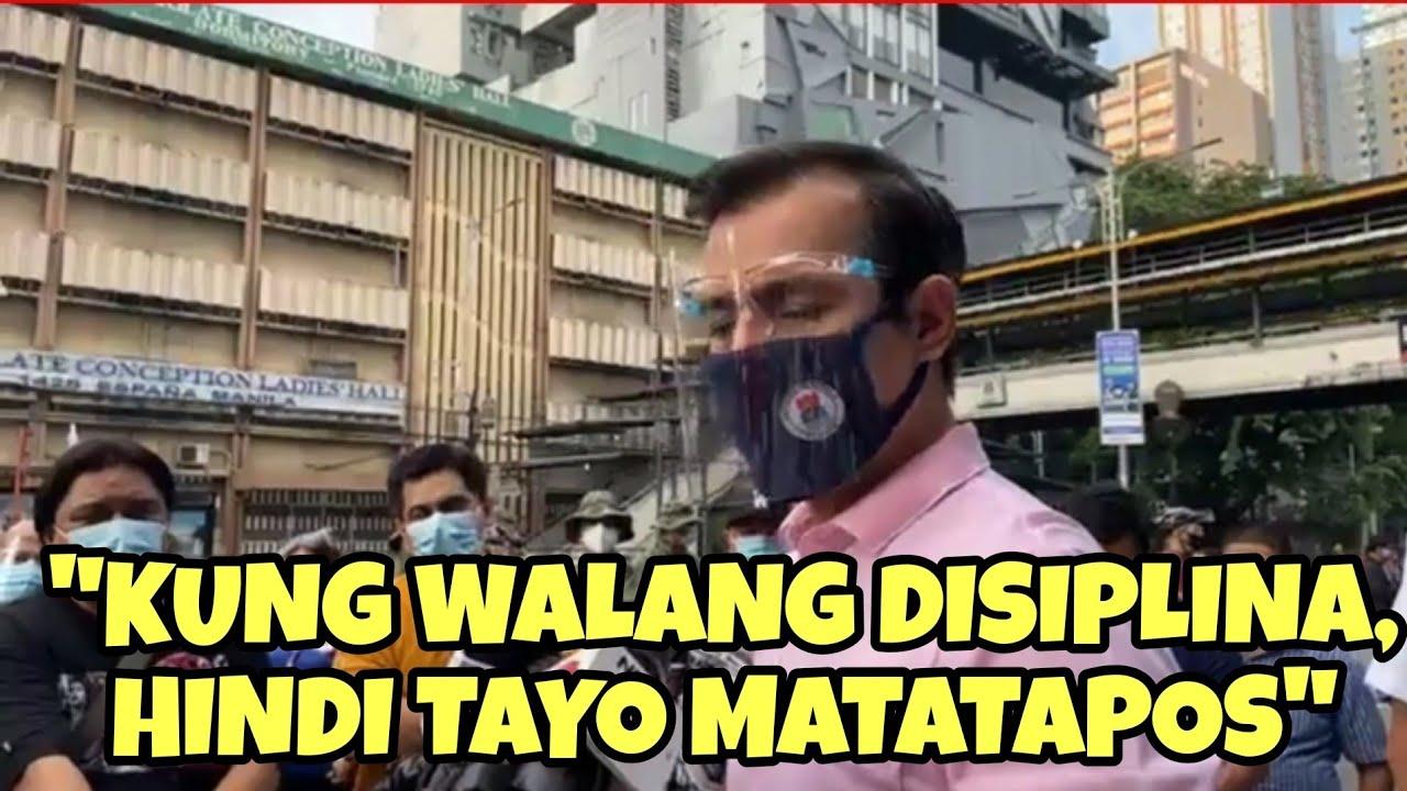 Mayor ISKO reacts to MECQ, says Manila is ready