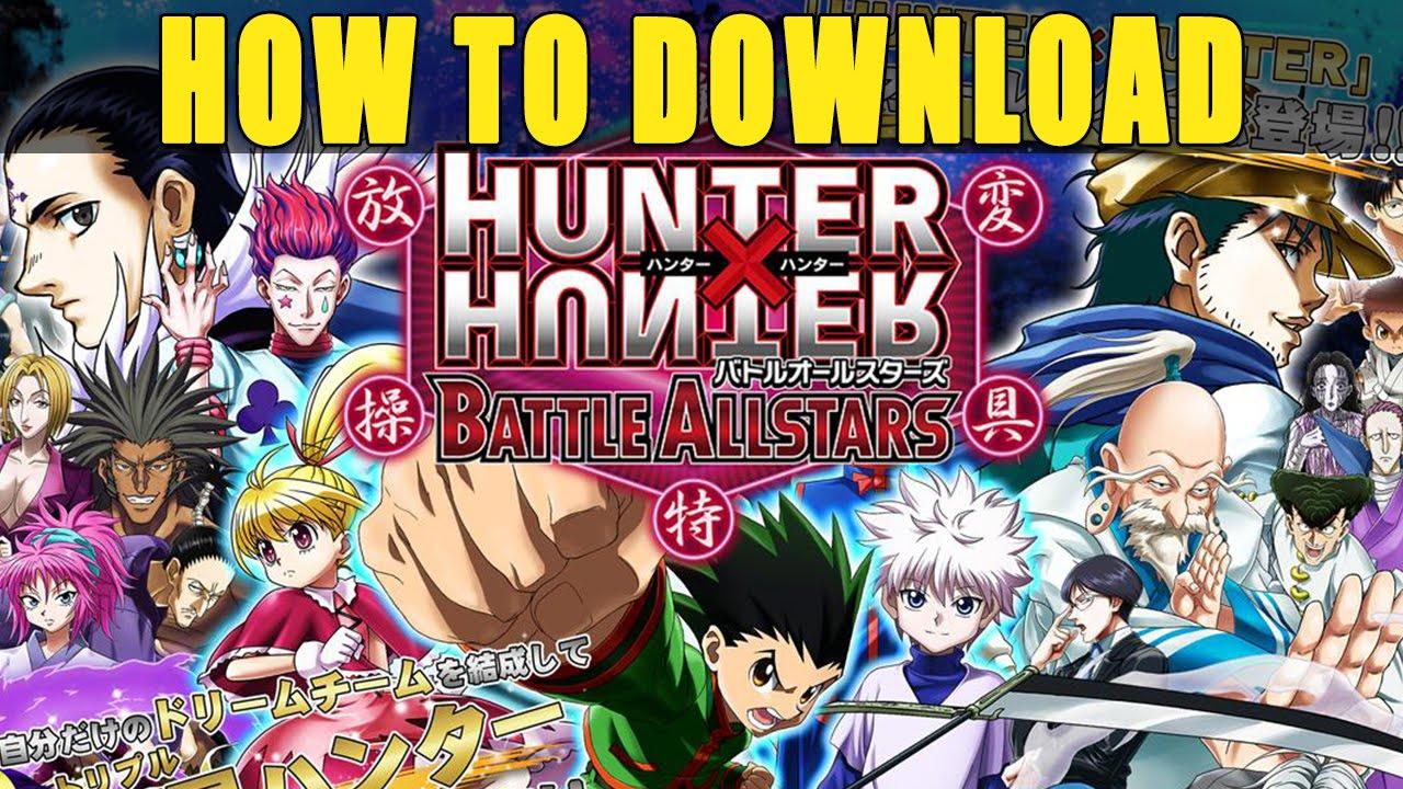 Hunter x hunter battle allstars how to download gameplay hunter x hunter battle allstars how to download gameplay japanese account voltagebd Gallery