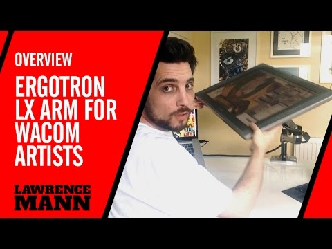 Unboxing And Setting Up Ergotron Arm For Wacom Cintiq By