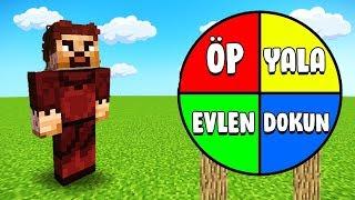 RİSKLİ ÇARK ÇEVİRME OYNADIK  😱 - Minecraft