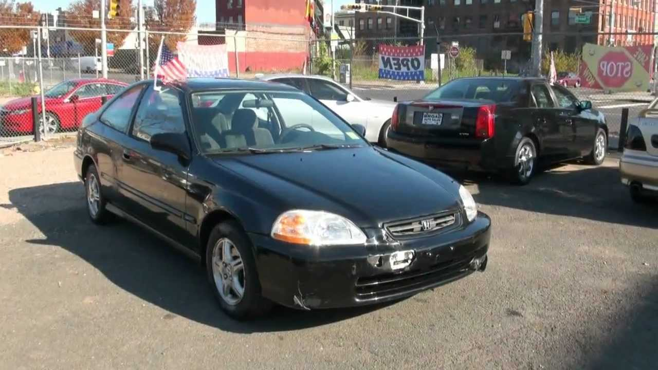 1998 honda civic ex coupe youtube. Black Bedroom Furniture Sets. Home Design Ideas