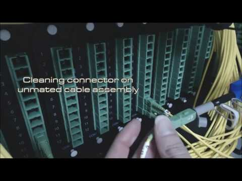 US Conec IBC™ Brand Cleaners - Cleaning Dirty Fibre Optic Connectors