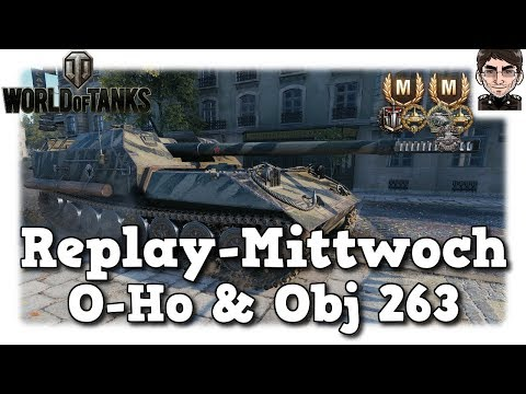 World of Tanks - O-Ho & Object 263, Two Nights in Paris [deutsch | Replay] thumbnail