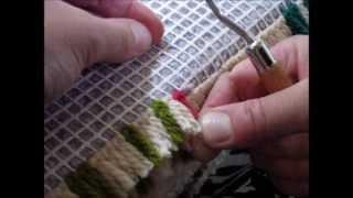 Latch Hook Tutorial by Utterly Hooked Designs