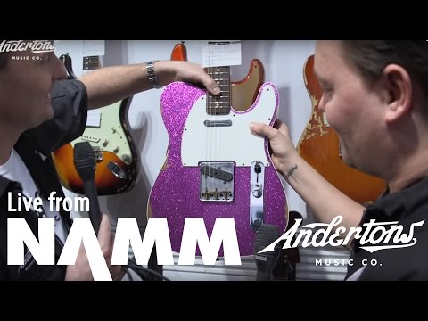 Fender Booth at NAMM 2017