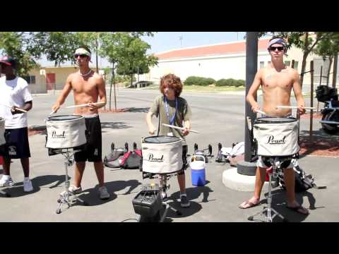 2010 Blue Devils drumline  - 12yr old Brandon center snare