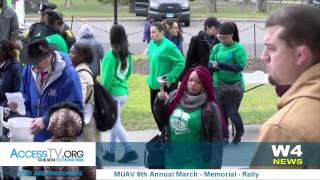 w4 news muav 9th annual march memorial and rally 4 8 2017