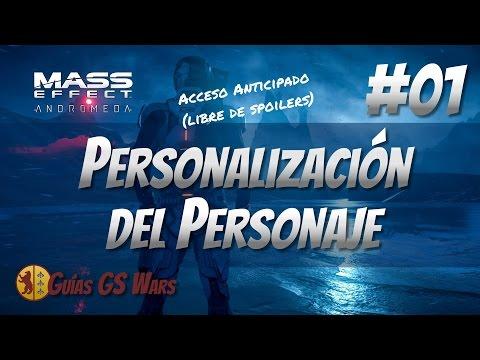 MASS EFFECT: ANDROMEDA #01 - Personalización del Personaje
