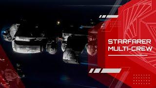 Star Citizen: Alpha 2.4 Starfarer Multi-Crew Gameplay