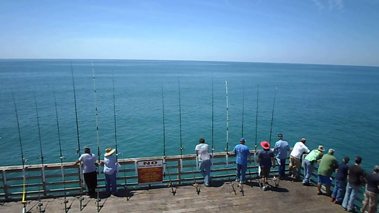 Memorial day bogue inlet fishing pier emerald isle nc for Fishing report emerald isle nc