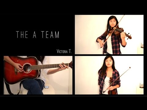 The A Team - Violin Cover (Ed Sheeran, Megan Nicole)