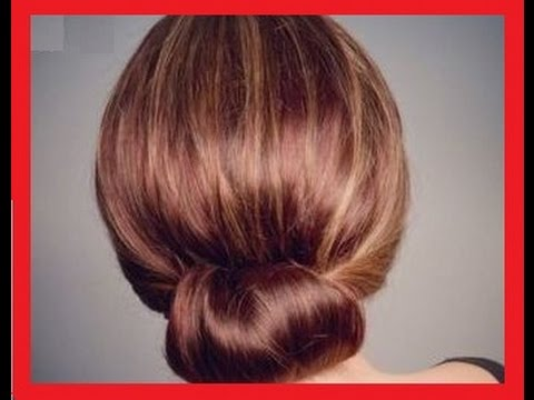Свадебная, вечерняя прическа для средних волос.