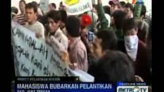 Mahasiswa Tuntut Pemilihan Ulang Rektor STAI Pati 2017 Video