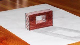 Prosty rysunek ścianki w 3D