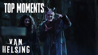 VAN HELSING | Season 4, Episode 7: Vanessa, Violet And Jack Fight Sam And The Oracle | SYFY