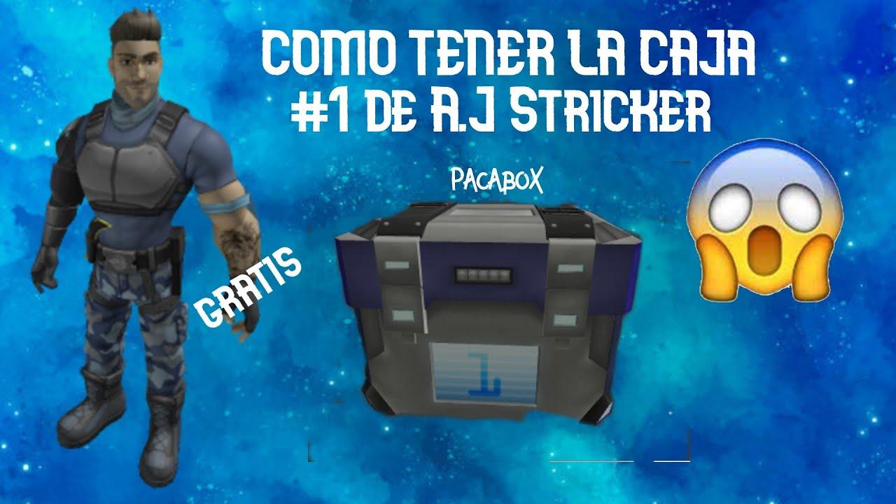 Download Como conseguir el premio de A.J Striker (Evento) Roblox Metaverse Champions  Caja #1 