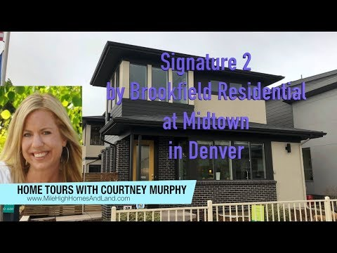 New Homes In Denver Colorado - Signature 2 By Brookfield Residential At Midtown