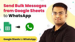 Send WhatsApp Message from Google Sheets in Bulk | Google Sheets WhatsApp Integration screenshot 3