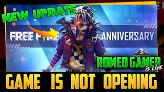The Game Is Not Opening Free Fire Live AO VIVO