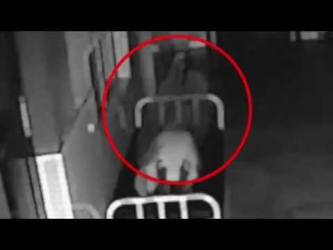 Душа покидает мертвое тело, камера видеонаблюдения в больнице Китая