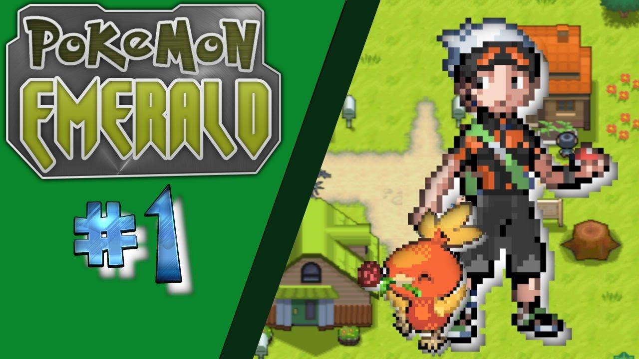 The Beginning... | Pokemon: Emerald Version [1]? - YouTube