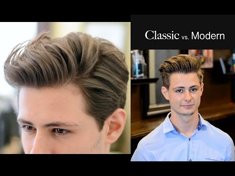 Modern Quiffslickback Mens Haircut Style All Mens Haircut Styles