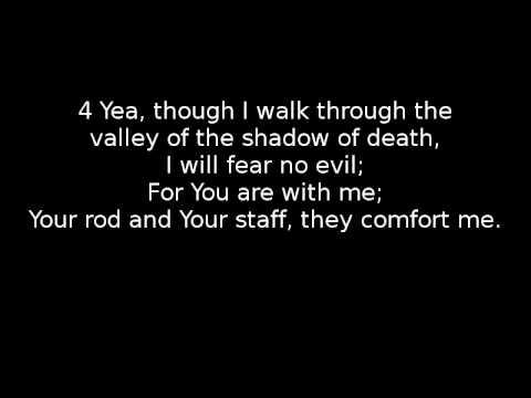 Scripture Song: Psalm 23 NKJV - The Lord is my Shepherd (Original Music)