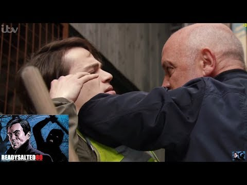 Coronation Street - Phelan Gets Violent With Seb