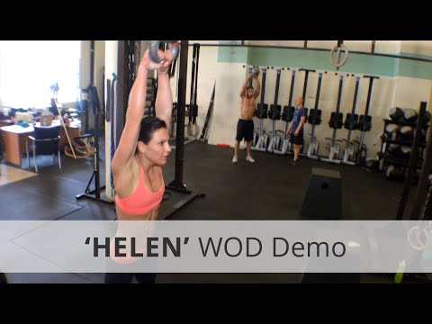Nancy WoD - Crossfit Girl WoD