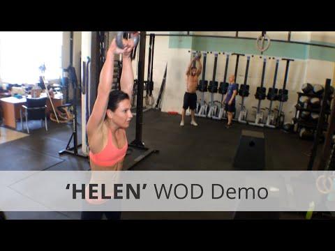 """""""HELEN"""" CrossFit WOD Demo - 8:26 Rx"""